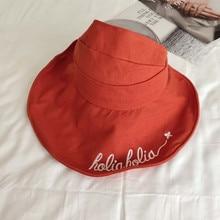 Хлопок буквы без Панама для рыбака шляпа уличная дорожная шляпа шляпы от солнца для женщин 34