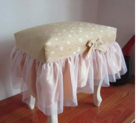 Pastry make up stool stool stool cushion set vanity stool set stool cushion cover dust cover