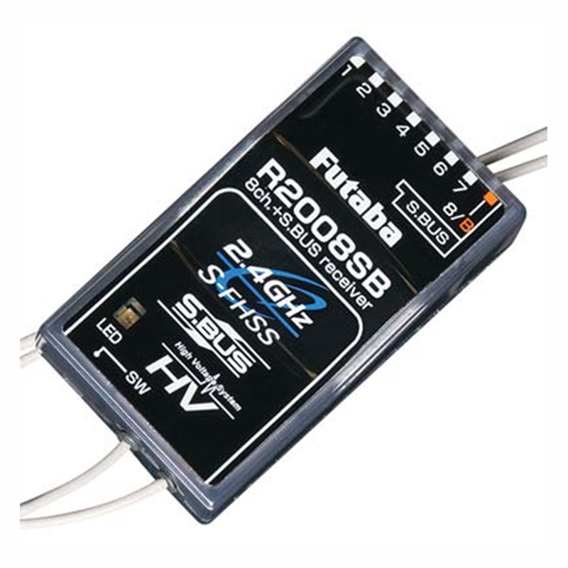 Tarot-RC Original Futaba R2008SB S.Bus 8-Channel S-FHSS Receiver for Futaba T8J T10J T14SG Radio Remote Control купить