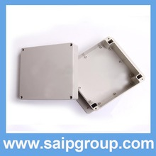 New Arrive din rail plastic enclosure waterproof box/waterproof enclosure160*160*90mm (SP-F5-2)