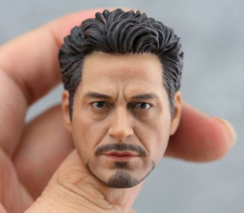 1/6 1:6 Scale Bearded Head Sculpt Headplay A-20 12 Action Figure Male Robert 1 6 scale european male head sculpt model headplay without neck for 12 action figure body figure
