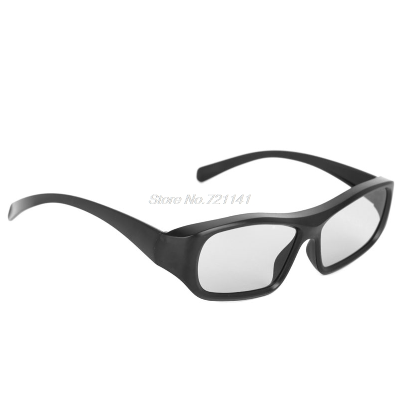 1 PC Passive 3D Glasses Black RD3 Circular Polarized 3D Viewer Cinema Pub Sky Cinema Electronics Stocks