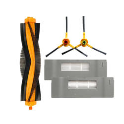 Высокое качество основной щетки и hepa фильтр и боковая щетка для замены Ecovacs Deebot DT85 DT83 DM81 DM85 DM86vacuum чище частей