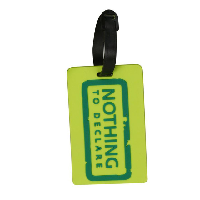 Luggage Tags for Travel New Style 2017 Suitcase Luggage Tags Unisex ID Address Holder Silicone Identifier Label For Travel D3824
