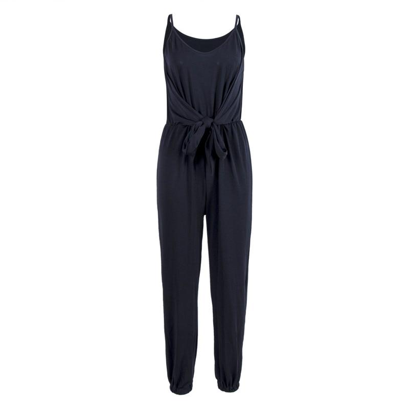2018 nouveau mode femmes dames vacances Clubwear combishort moulante fête solide décontracté noir gris armée vert barboteuse pantalon