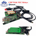 New TCS CDP PRO PLUS V2015.01 Free Active CDP NEC Relays Work Perfectly For E60/61/90 TCS Scanner CDP New VCI