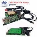 Novas TCS CDP PRO PLUS CDP V2015.01 Ativo Livre NEC Relés Funcionar Perfeitamente Para E60/61/90 TCS digitalizador CDP Novo VCI