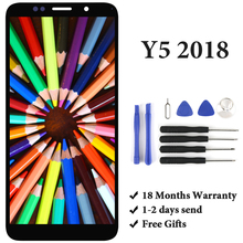 купить For Huawei Y5 2018 Y5 Pro 2018 LCD Touch Screen DRA-L02 DRA-L22 DRA-LX2 Panel For Huawei Y5 Prime 2018 LCD Display Assembly дешево