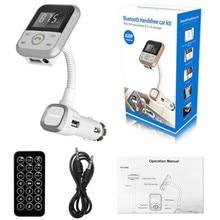 High Quality  LCD Car Bluetooth MP3 Player SD USB Remote FM Transmitter Modulator For Phone TR