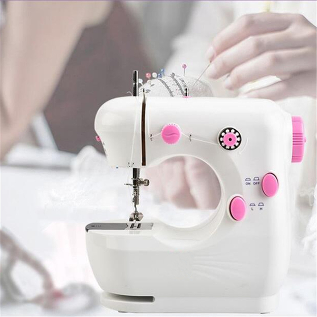 40V 40W Multifunction Pink Electric Home Desktop Portable Electric Cool Smallest Sewing Machine