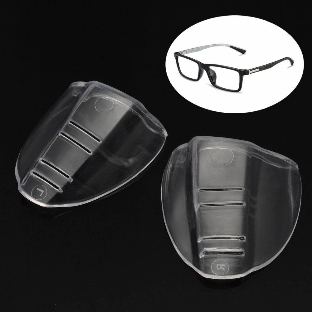 1 Pair New Safety Glasses Protective Covers for Eyewear Goggles Side Shields TPU Polyurethane Clear Flap Side Protector1 Pair New Safety Glasses Protective Covers for Eyewear Goggles Side Shields TPU Polyurethane Clear Flap Side Protector