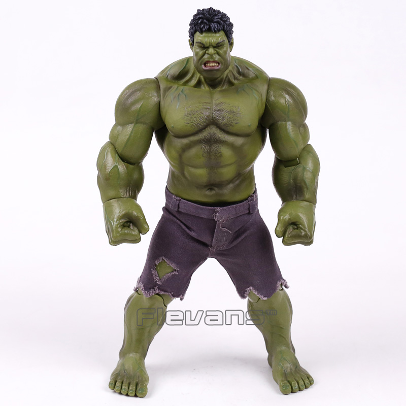 Marvel The Avengers Hulk Super Hero PVC Action Figure Collectible Model Toy 25cm free shipping super big size 12 super mario with star action figure display collection model toy
