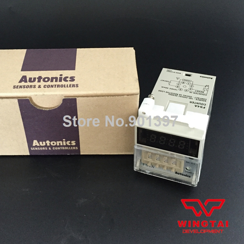 Korea Autonics Counter Meter 8 PIN Plug Connection Type  FS4A ноутбук hp compaq 15 ay044ur