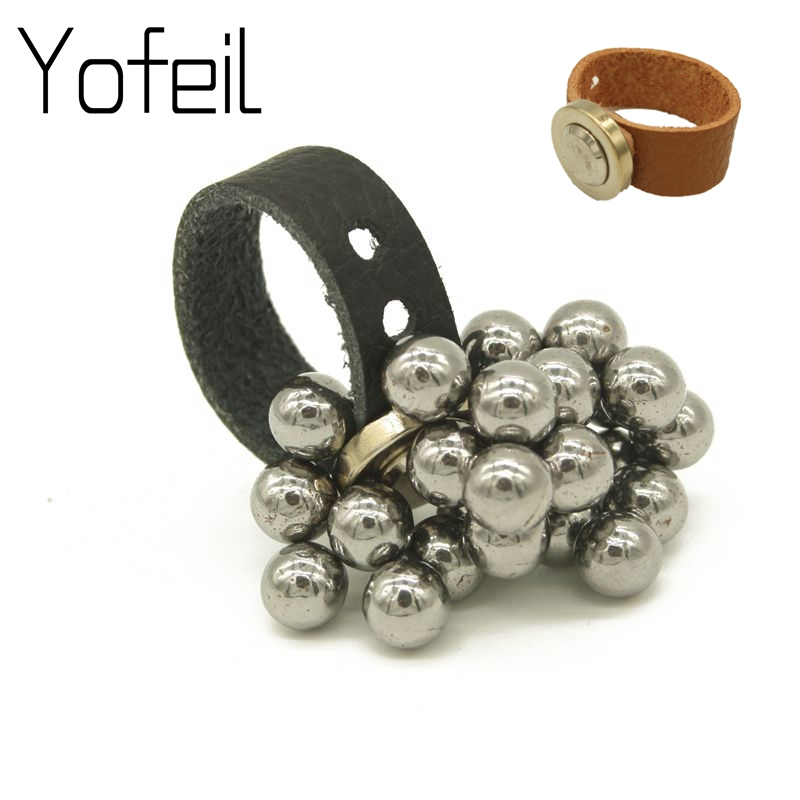 Automatic Adjustment Strong Magnetic Ring Magnet Magnetic Buckle Slingshot Accessories Slingshot Draws Steel Balls Ring