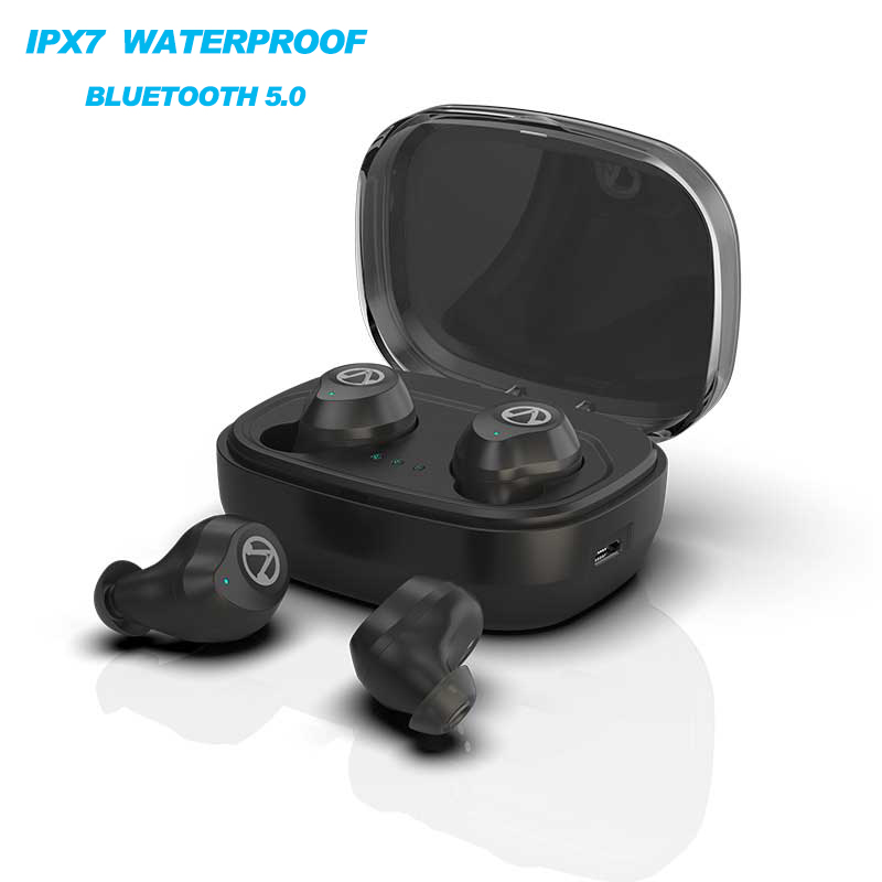 2018 TWS Bluetooth 5 .0 Earphone True Wireless 3D Sport Headphones Waterproof Stereo Headset Earbuds With Microphone For Phone sabbat mini tws v5 0 bluetooth earphone sport waterproof true wireless earbuds stereo in ear bluetooth wireless ear buds headset