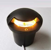 цена на Polarized light 7W LED Underground Ligjht 12V 24V IP65 Waterproof CE ROHS Outdoor Landscape Lighting single color lamp 4PCs/Lot