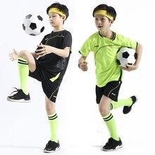 WXL-009 Childen niños equipo de fútbol jersey conjunto de fútbol deportes  trajes niños establece 8dc2240688650