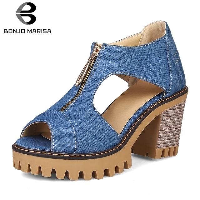 167441344641 Presupuesto BONJOMARISA nueva oferta sandalias de plataforma con ...