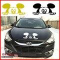 58 X 25 CM nuevo encanto estilo de dibujos animados coche Mickey Mouse etiqueta del coche coche moda capucha Head Decor Mickey Mouse pegatinas de coches y calcomanías