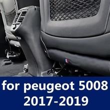 Защита для сидений, защита заднего сиденья, защита от ударов, Накладка для сиденья, Автомобильный интерьер, модифицированная для peugeot 5008