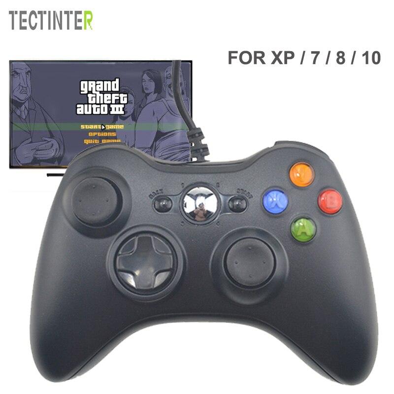 Controle Per Microsoft USB Wired Gamepad Game System Controller PC per Windows 7/8/10 Non per Xbox Joypad