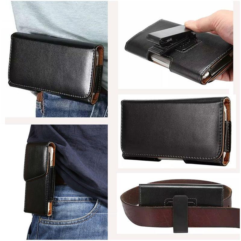 5-5.2 inch Universal Belt Clip Holster Flip PU Leather Case Cover For Xiaomi Mi5 M5 Mi 5 Mobile Phone Bags For Xiaomi Redmi 4x