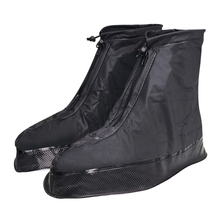 BEAU-Shoe Cover For Men Women Rain Boots Waterproof With Thickened /Button Strap/Zipper/Elastic Bandage