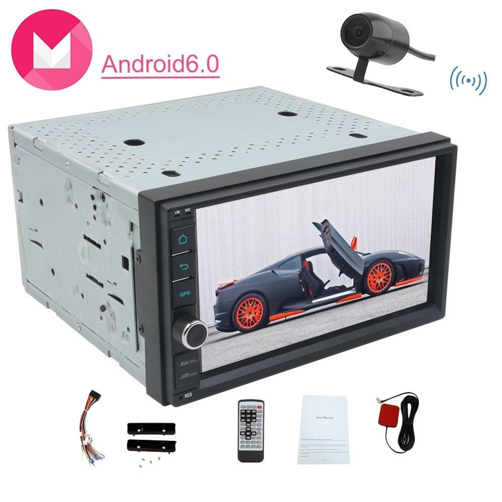 Android6.0 Car Stereo in Dash Headunit Car GPS Navigator Built in WIFI Steering Wheel Support Mirror Link/USB/WIFI/SD/3G/4G/OBD2