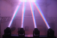 2pcs Lot Mini Stage Beam Dmx 512 Control 4 Head Led Beam Moving Head Each Beam