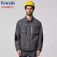 Mechanic Construction Working Jacket For Men Work Clothes Workwear Uniforms B212