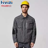 Jaqueta Para Os Homens De Construção De Trabalho Roupas de Trabalho Workwear Uniformes mecânico B212