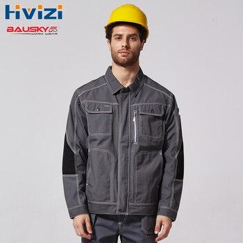 Meccanico Costruzione Giacca Per Gli Uomini di Lavoro Abiti Da Lavoro Abbigliamento Da Lavoro Uniformi B212