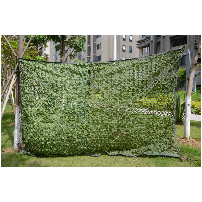 WELEAD 3.5x7m Reinforced Military Camouflage Net Green for Pergola Outdoor Awning Mesh Hide Shade Sun Shelter 3x7 3*7 4x7 4*7 - 3