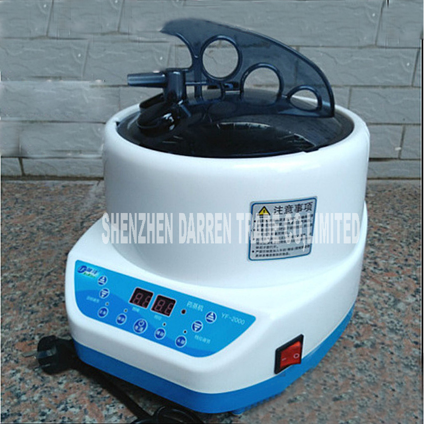 2000W 4L Big Steam Machine Pot 110V/220V high-quality stainless steel steamer pot fumigation household steam engine sauna bath cukyi household electric multi function cooker 220v stainless steel colorful stew cook steam machine 5 in 1