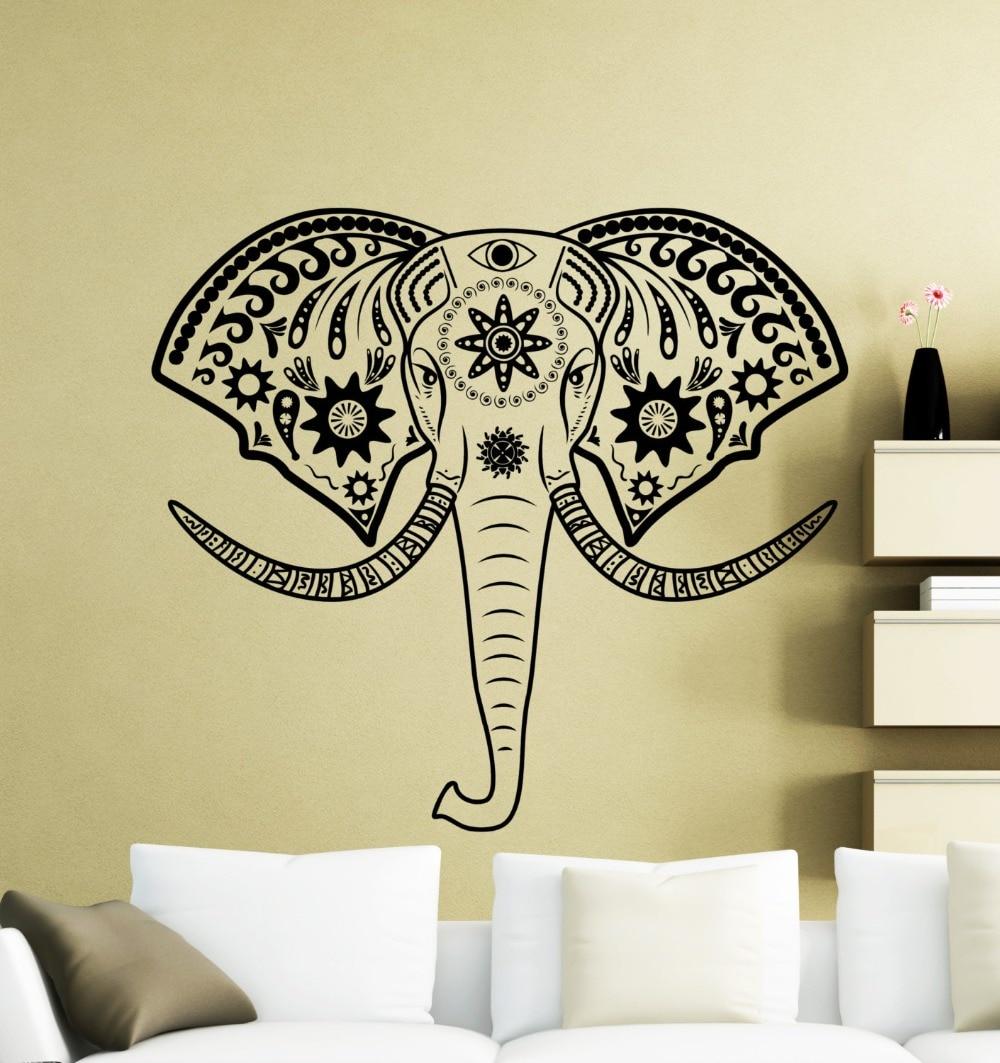 Outstanding Felt Elephant Head Wall Decor Mold - Wall Art ...