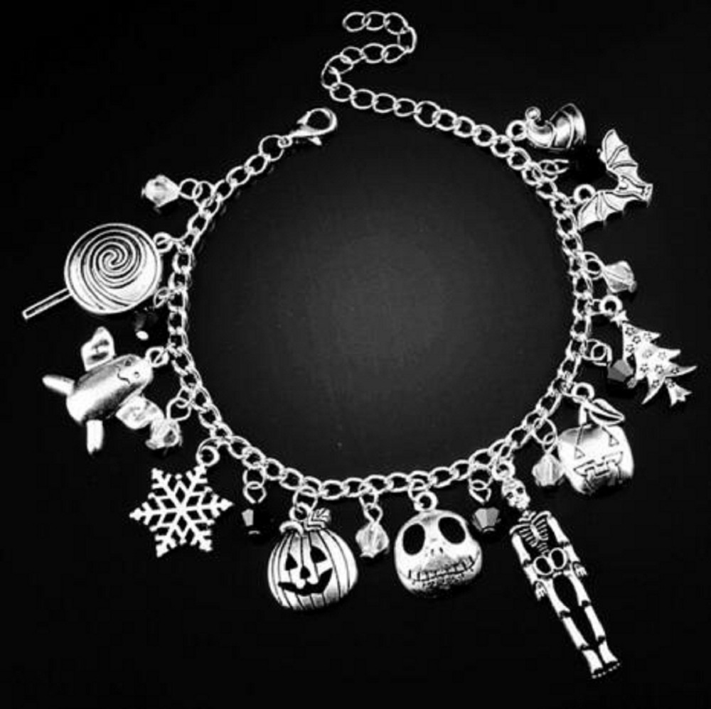 2018 The Nightmare Before Christmas figure Bracelet Halloween Jack ...