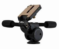 Velbon Magnesium 3-Way Pan/Tilt Head PH-275 for DSLR Camera Tripod