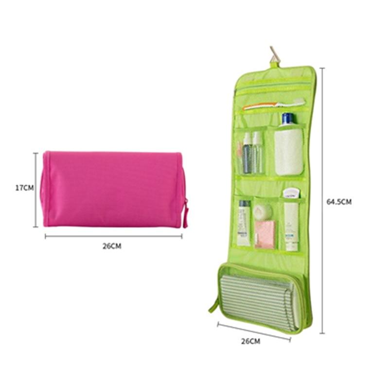 Kotak Organizer Perjalanan Makeup Case Lipat Cocok untuk Tas Penyimpanan Tas  Gantung Perlengkapan . a6dc441803