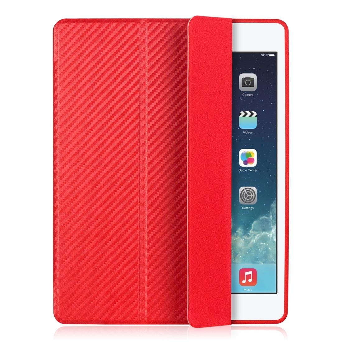 Cover For Ipad Mini 4 Case Silicone Soft Back For Apple Ipad Mini Case 7.9 Inch Carbon Fiber Shockproof Auto Sleep/Wake