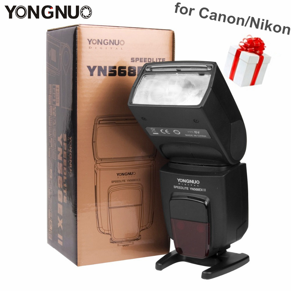 Galleria fotografica Yongnuo YN568EX YN568EX II Sans Fil TTL HSS Flash Speedlite Auto 1/8000 s pour Canon 5D3 5D2 6D 7D pour Nikon D800 D750 D7100