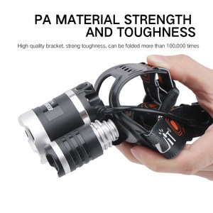 Image 3 - BORUiT T6 XPE 390nm UV LED far 1000LM 3 Mode güçlü far şarj edilebilir 18650 su geçirmez baş feneri kamp balıkçılık için