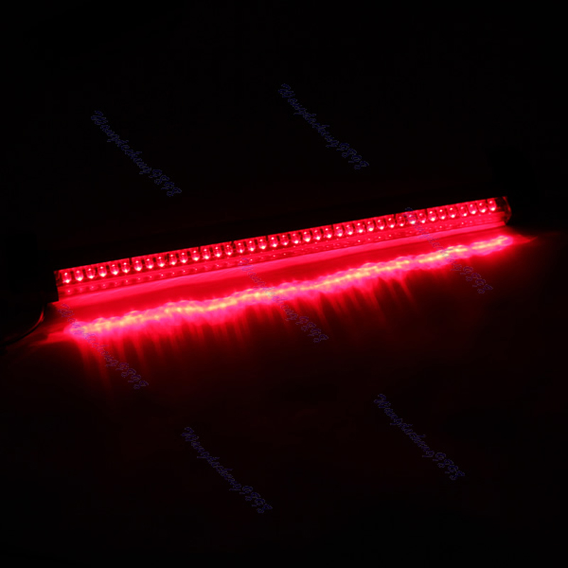 12V Red 40 LED Vehicle  Tail Rear Brake Warning Light Lamp New  Auto Fog Stop Car 40 led 34cm dc12v led light vehicle car light source auto fog stop tail rear brake warning light lamp high quality red