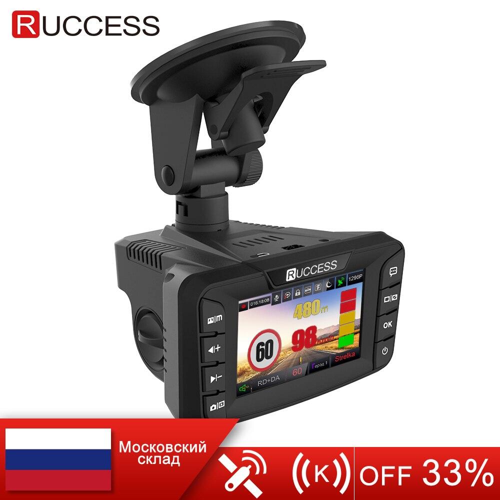 RUCCESS 2 7 Anti Car Radar Detector for Russia with GPS Police Radar Camera 170 Degree