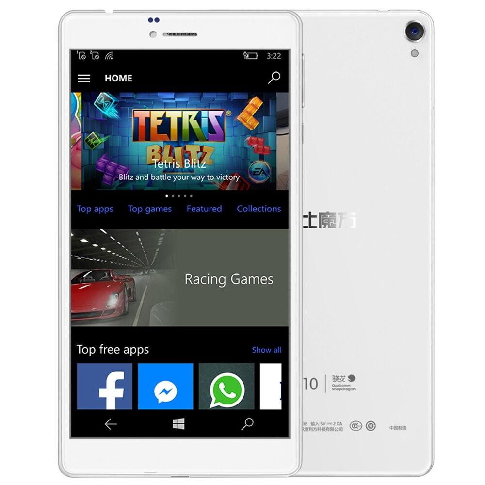 ALLDOCUBE WP10 6.98'' IPS 4G Phone Call Phablet Windows 10 MSM8909 Quad Core 1.3GHz 2GB+16GB 5MP Camera Tablets PC GPS Bluetooth cube wp10 4g phablet white