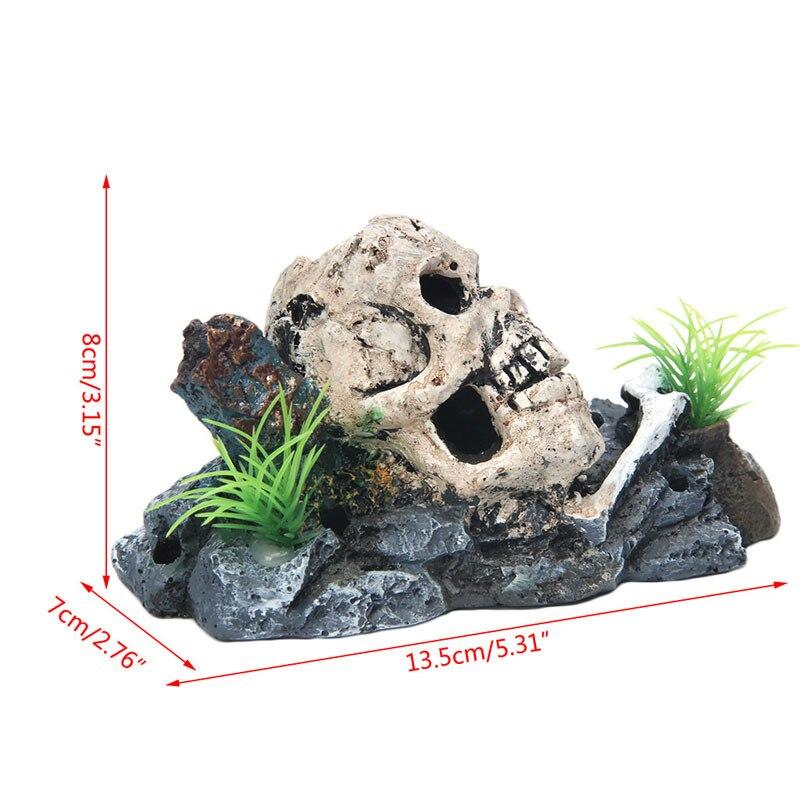 Grifri Reptile Hideout Nest Simulated Hidden Caves Snake Habitat Tree Nest Aquarium Decoration Reptile Supplies Home Decoration L
