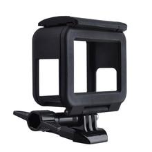 Спорт видеокамера стандартный кадр гора защитный корпус и крышка объектива для gopro hero 5 корпус для камеры