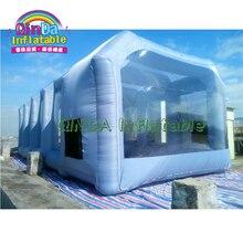 Лидер продаж, для мобильного телефона надувная аэрозольная камера палатка Портативный надувная покрасочная Палатка палатки для поддержания автомобиля с воздушный фильтр с углем