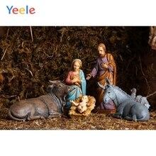 Yeele Cartoon Nativity Scene Backdrops Portrait Photocall Photography Background Photographic Backdrop For Photo Studio