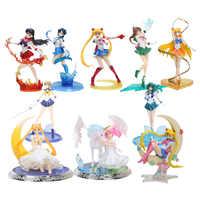8 ''20 centimetri super sailor moon figura i giocattoli anime Sailor marte Giove Venere 1/8 PVC Action Figure Da Collezione Modello giocattoli