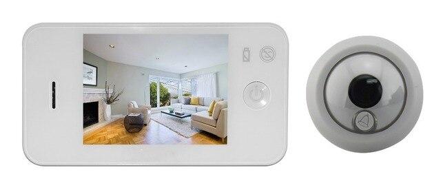 SDR Two Color Luxury Video Door Phone ,Peephole Viewer Video Door Ring ,Wide Angle Video Doorbell